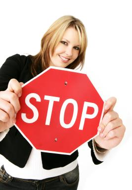 stop-sign-woman