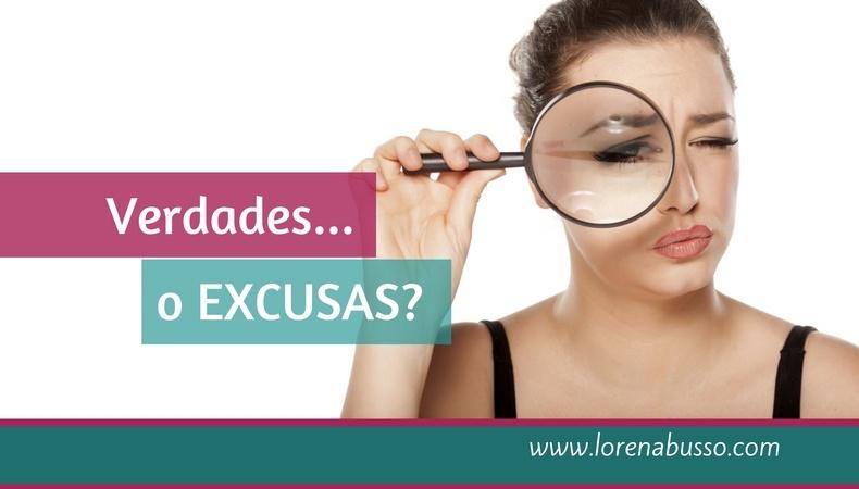Verdades… o excusas?