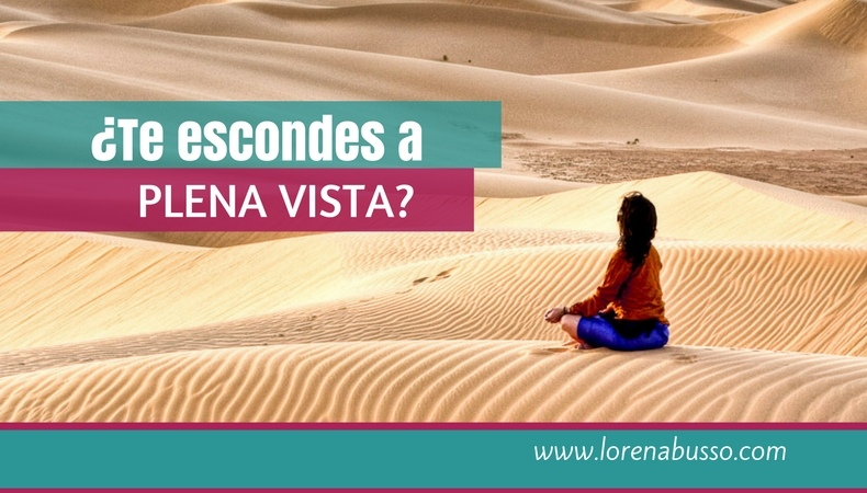 ¿Te escondes a plena vista?